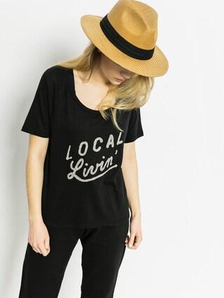 Roxy T-Shirt Boyfriend Local Wmn (black)