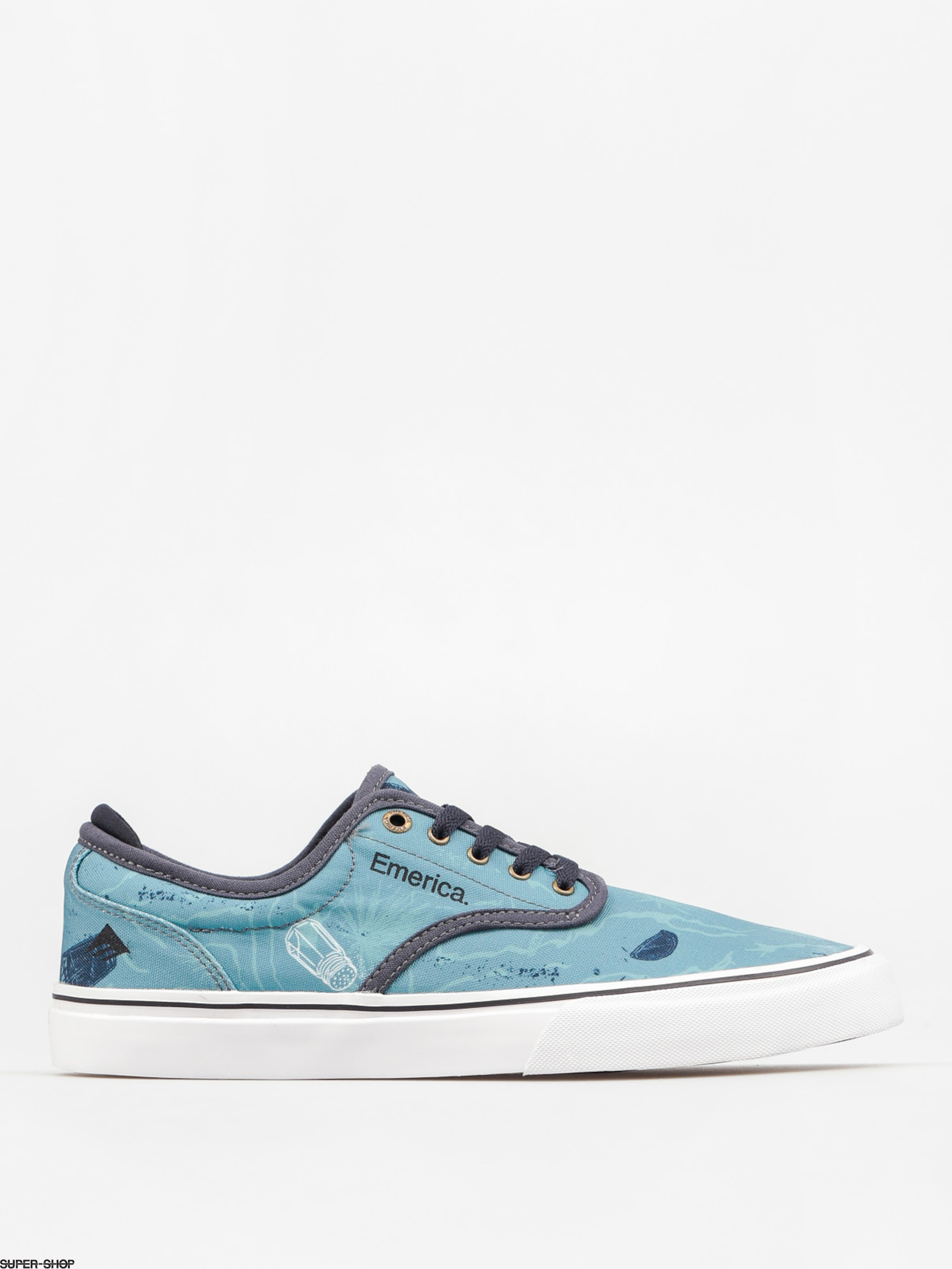 Emerica Shoes Wino G6 (blue/white/navy)
