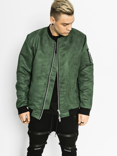 The Hive Jacket Bomber (bottle green)