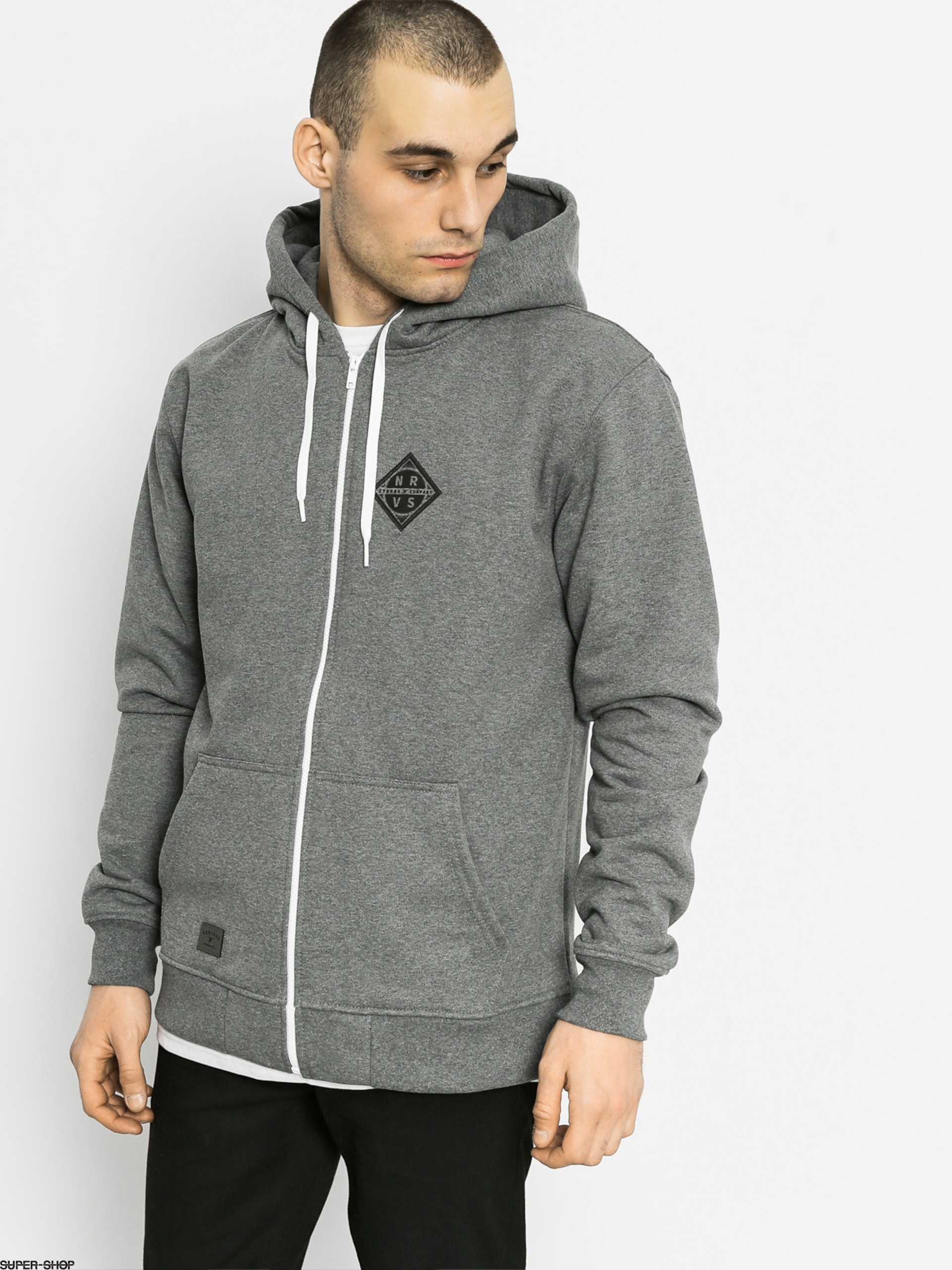 Nervous Hoody Sphere ZHD (grey)