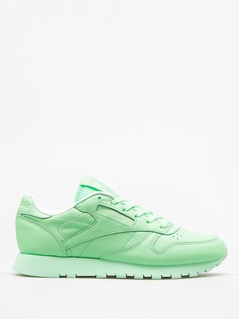 Reebok Schuhe Cl Lthr Pastels Wmn (mint green/white)
