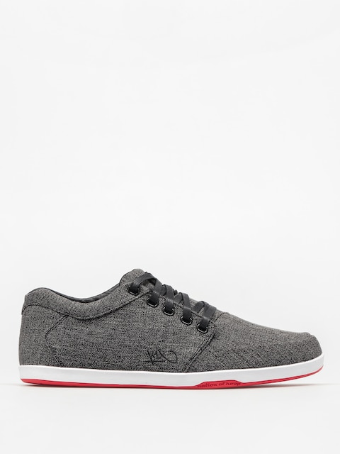 K1x Schuhe Lp Low (black/white/red)