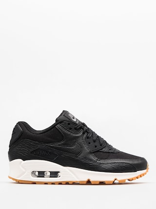 Nike Shoes Air Max 90 Wmn (Prm Lea black/black dark grey ivory)