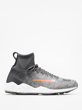 Nike Zoom Mercurial Hi Flyknit Fc Shoes (dark grey/dark grey wolf grey)