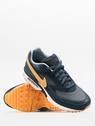 brand new c5eb1 7ca82 ... official store nike shoes air max bw premium armory navy gum yellow  affef 45c5e
