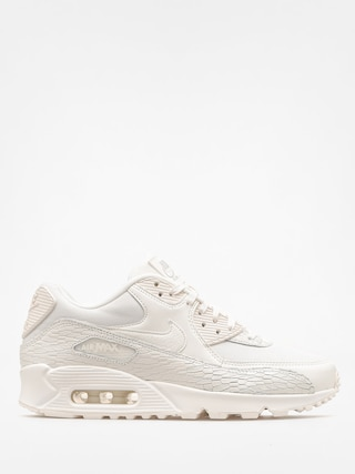 Nike Shoes Air Max 90 Wmn (Prm Lea sail/sail light bone white)