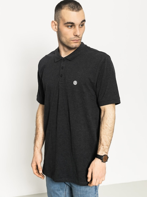 Element Polo t-shirt Freddie (charcoal heather)