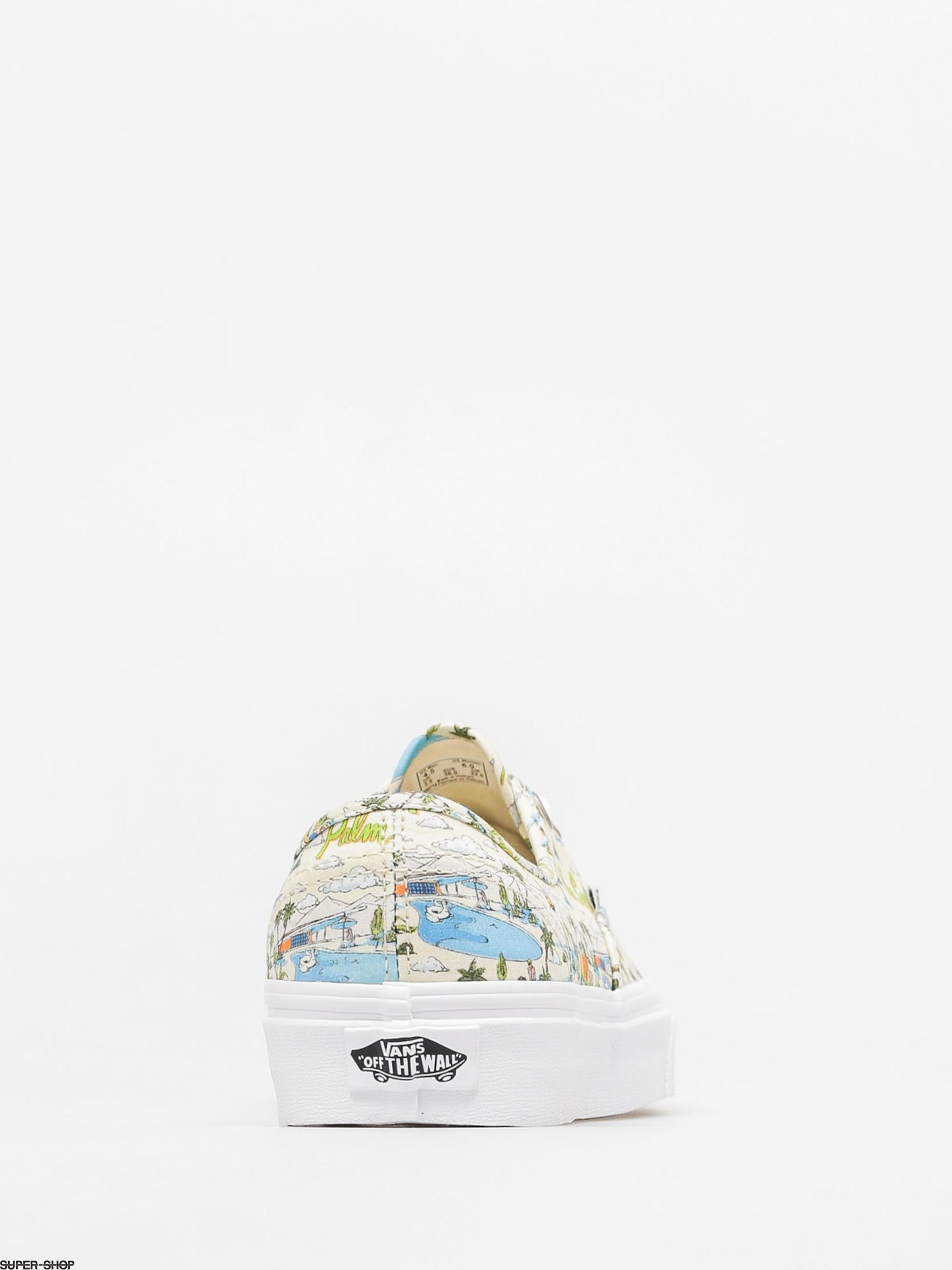 a26dac113f Vans Shoes Authentic (palm springs cloud cream true white)