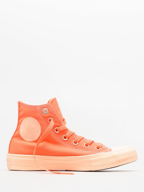Converse Chucks Chuck Taylor All Star II Hi (hyper orange/sunset glow)