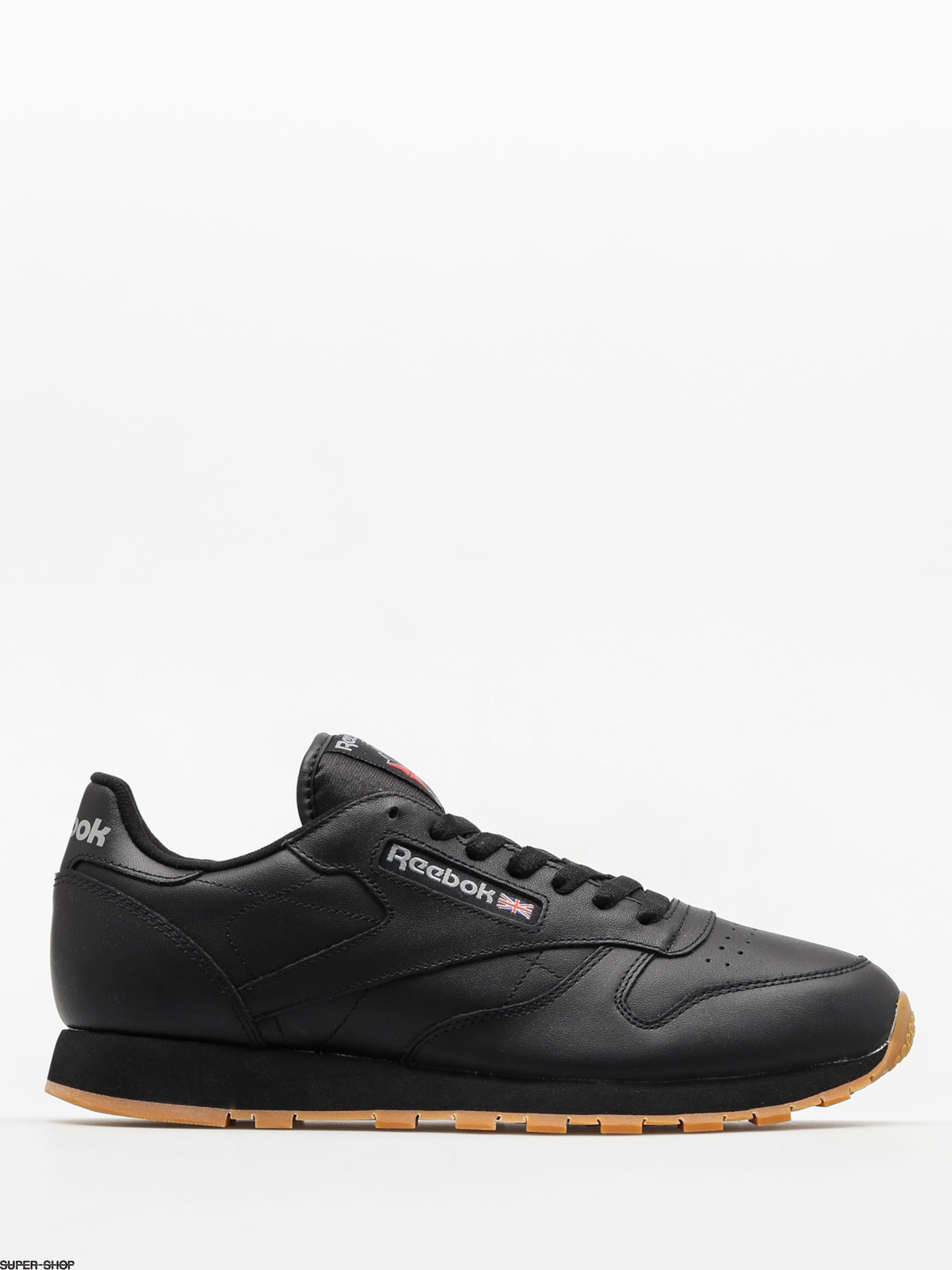 Reebok Shoes Cl Lthr (black/gum)