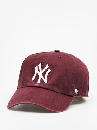 47 Brand Cap New York Yankees ZD (washed maroon)