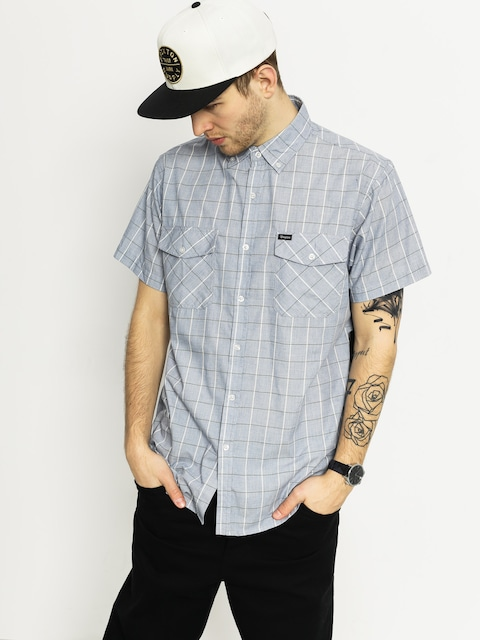 Brixton Shirt Memphis (heather blue)