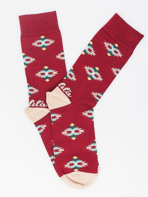Malita Socken Navaho (burgundy)