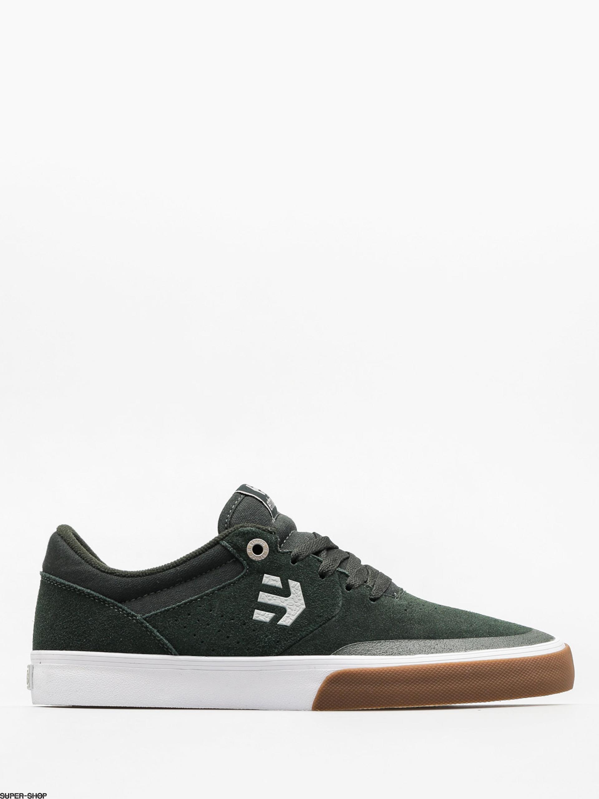 Etnies Shoes Marana Vulc (green/white/gum)