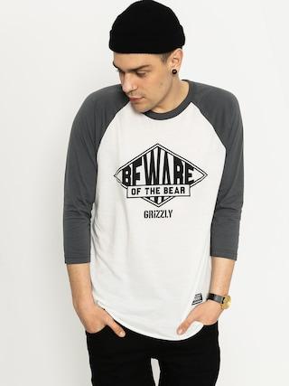 Grizzly Griptape T-Shirt Pyramid Raglan (grey)