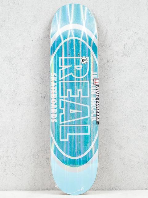 Real Deck Brock Holo Oval (teal/light blue)