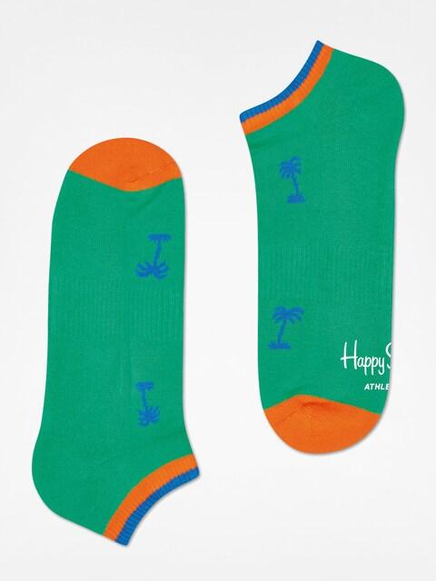 Happy Socks Socken Athletic Palm Beach Low (green)