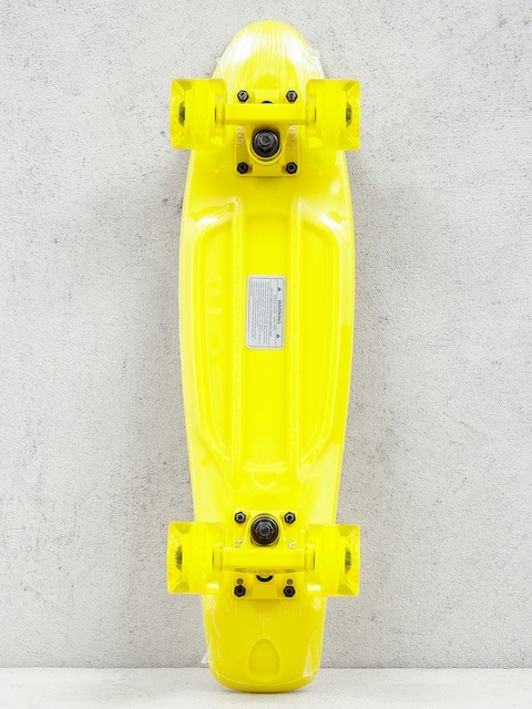 Fish Skateboard Cruiser 01 (yellow/yellow/yellow)