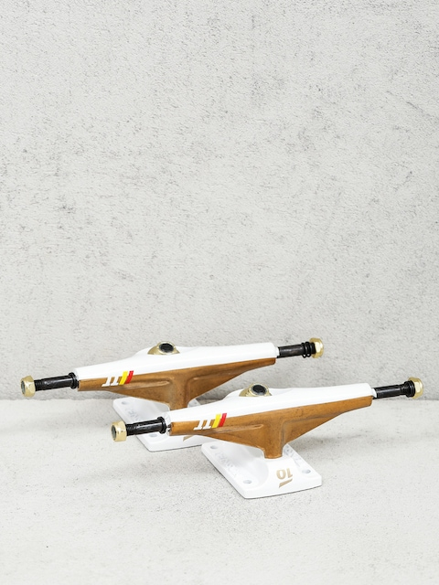 Tensor Trucks Split Lo Alum (gold/white)