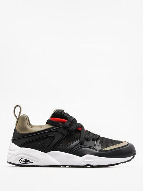 Puma Schuhe Blaze Of Glory Streetblock (puma black/burnt olive)