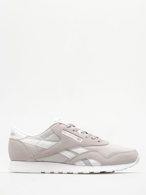 Reebok Schuhe Classic Nylon (whispher grey/white)