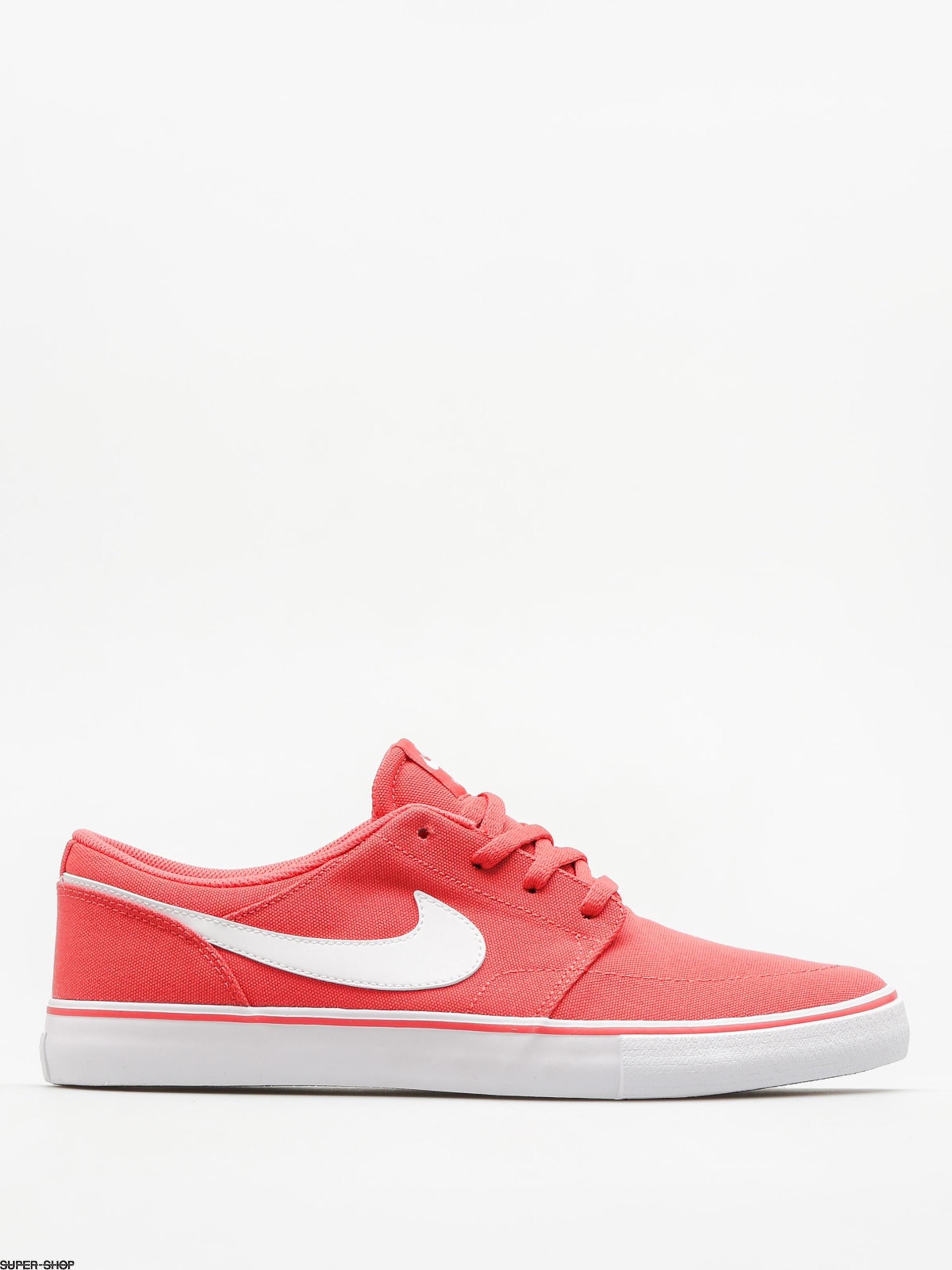 Nike SB Shoes Nike Sb Portmore II Solar Cnvs (track red/white black)