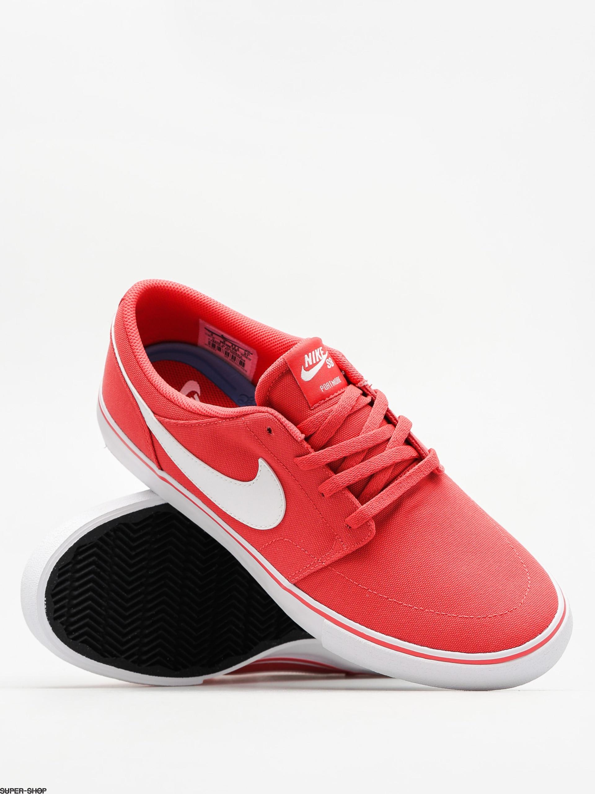Nike SB Schuhe Nike Sb Portmore II Solar Cnvs (track rot Weiß schwarz) Einfach zu bedienen