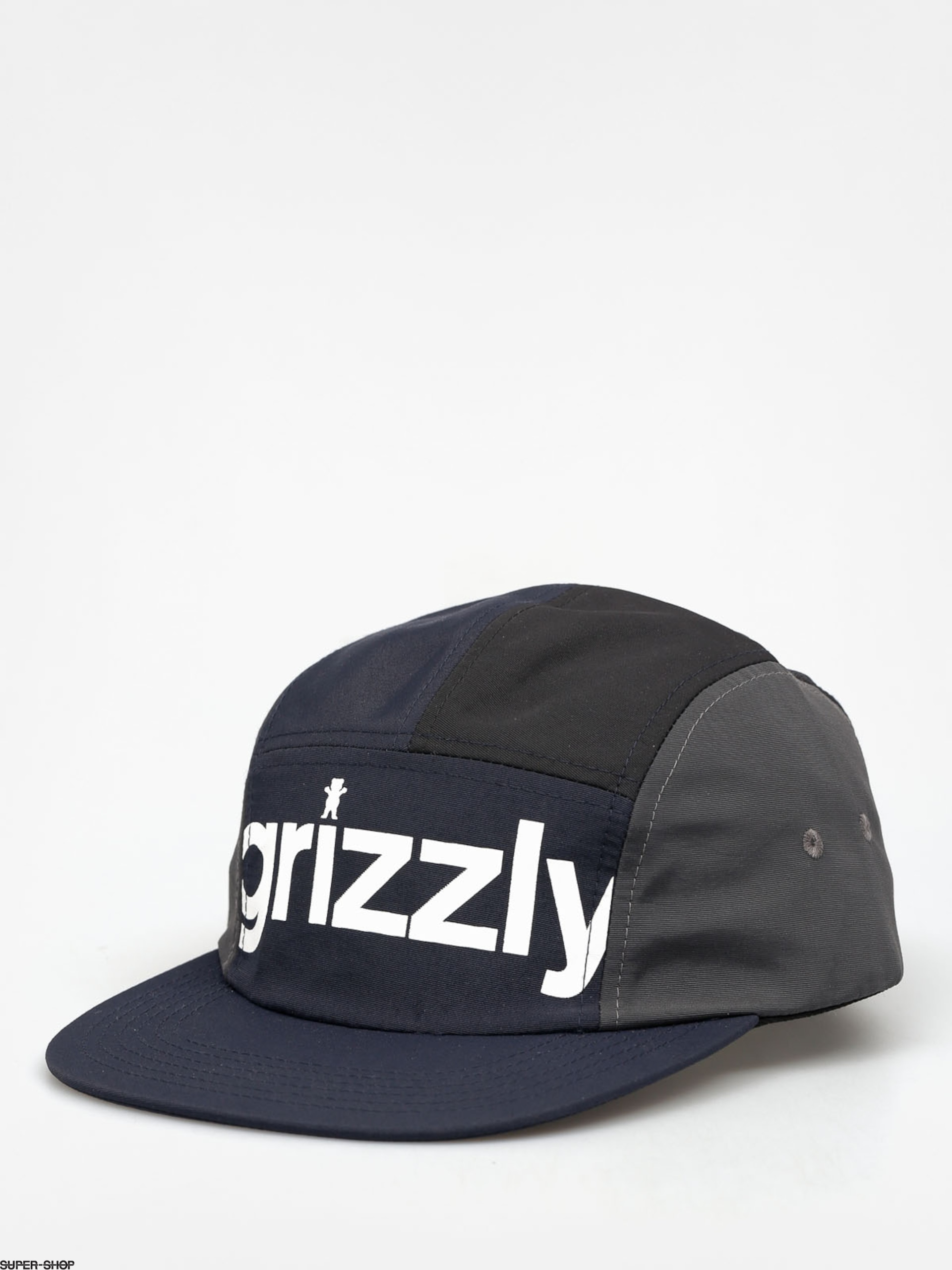 Grizzly Griptape Cap Shades 5 Panel ZD (black)