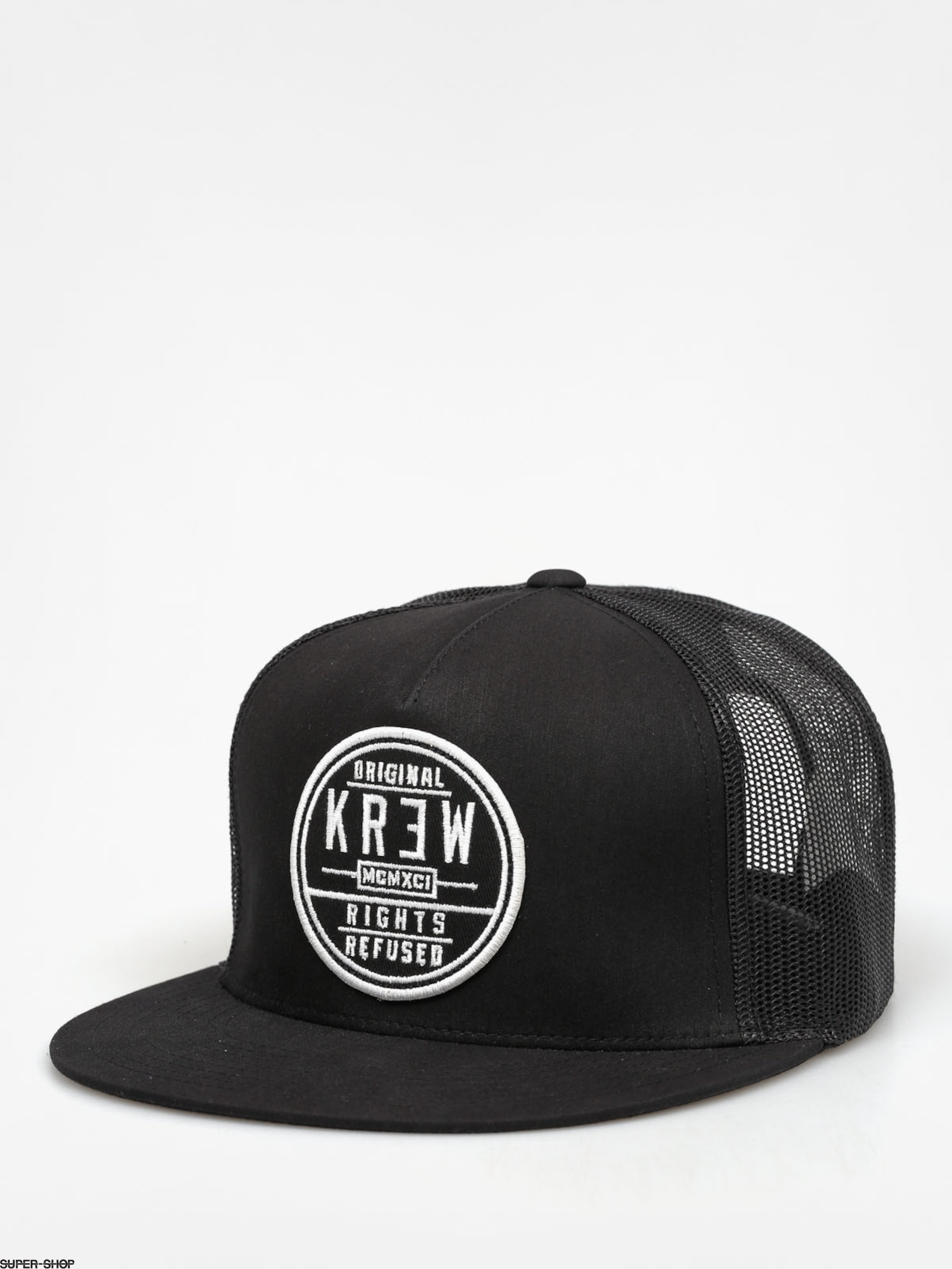 Kr3w Cap Patch Seal Trucker ZD (black/black)