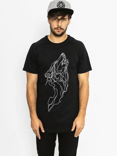 Majesty T-Shirt Wolf (black)