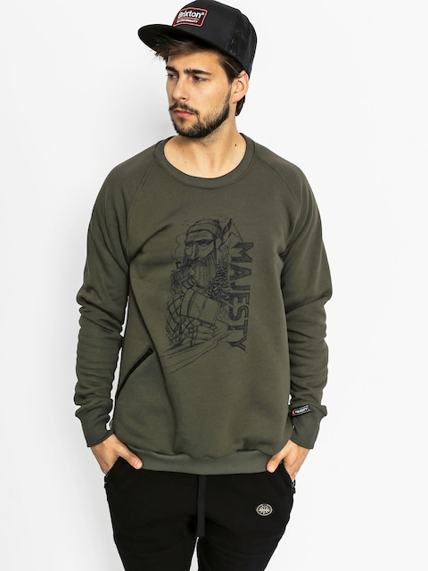 Majesty Sweatshirt Lumberjack (army)