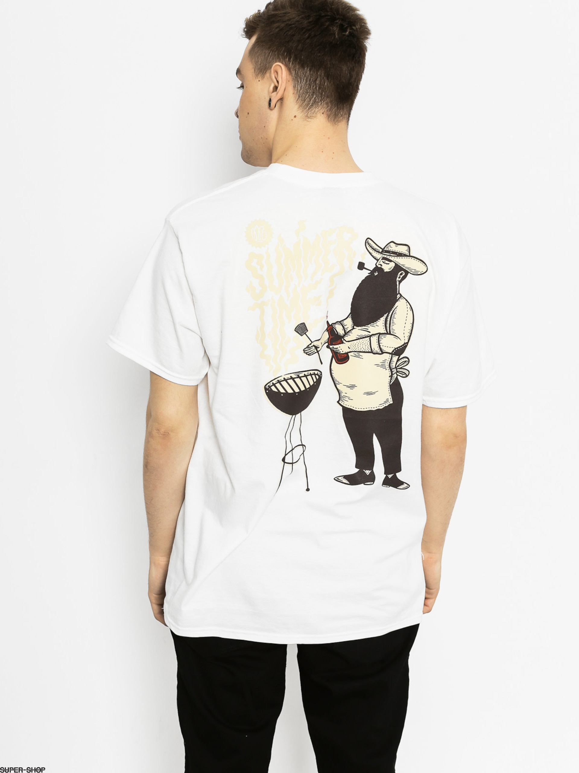 Malita T-shirt Beard And Grill (white)