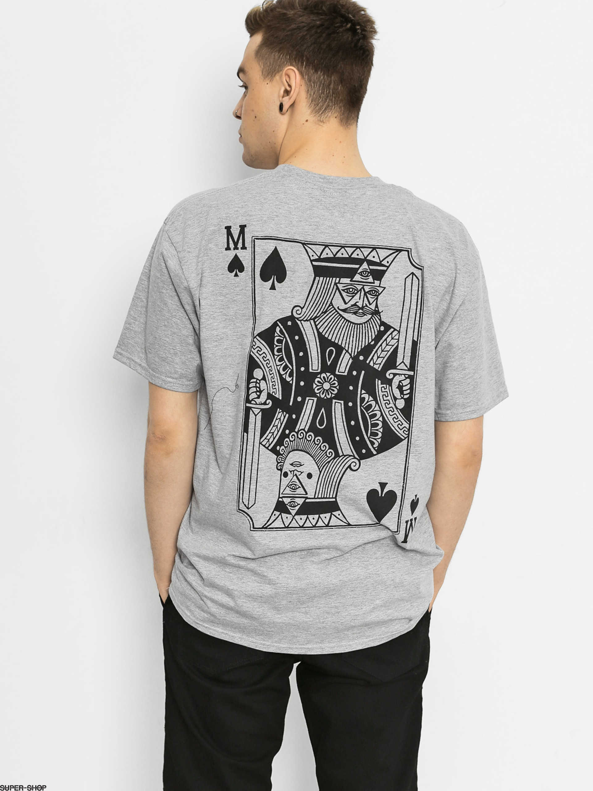 Malita T-shirt Pik (heather grey)