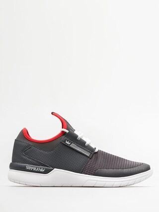 Supra Shoes Flow Run (dk grey/white)
