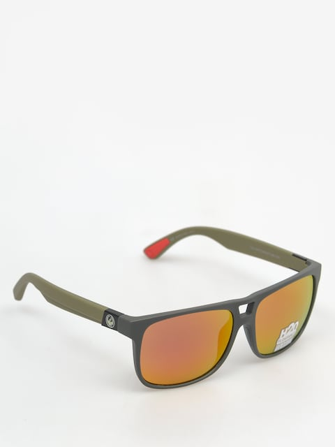 Dragon Sonnenbrille Roadblock H2O (matte magner grey/red)