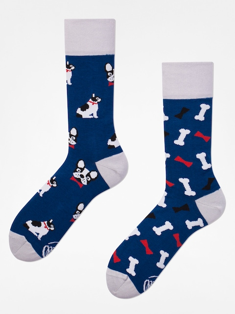 Many Mornings Socken Dog Affair (navy/silver)