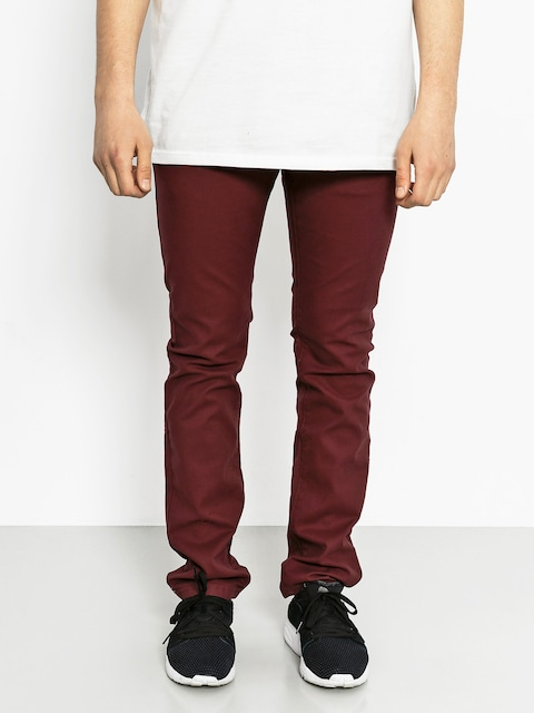 Malita pants Stripes Slim (maroon)