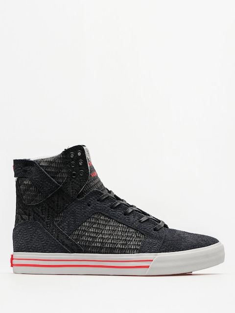 Supra Schuhe Skytop (black/white red)