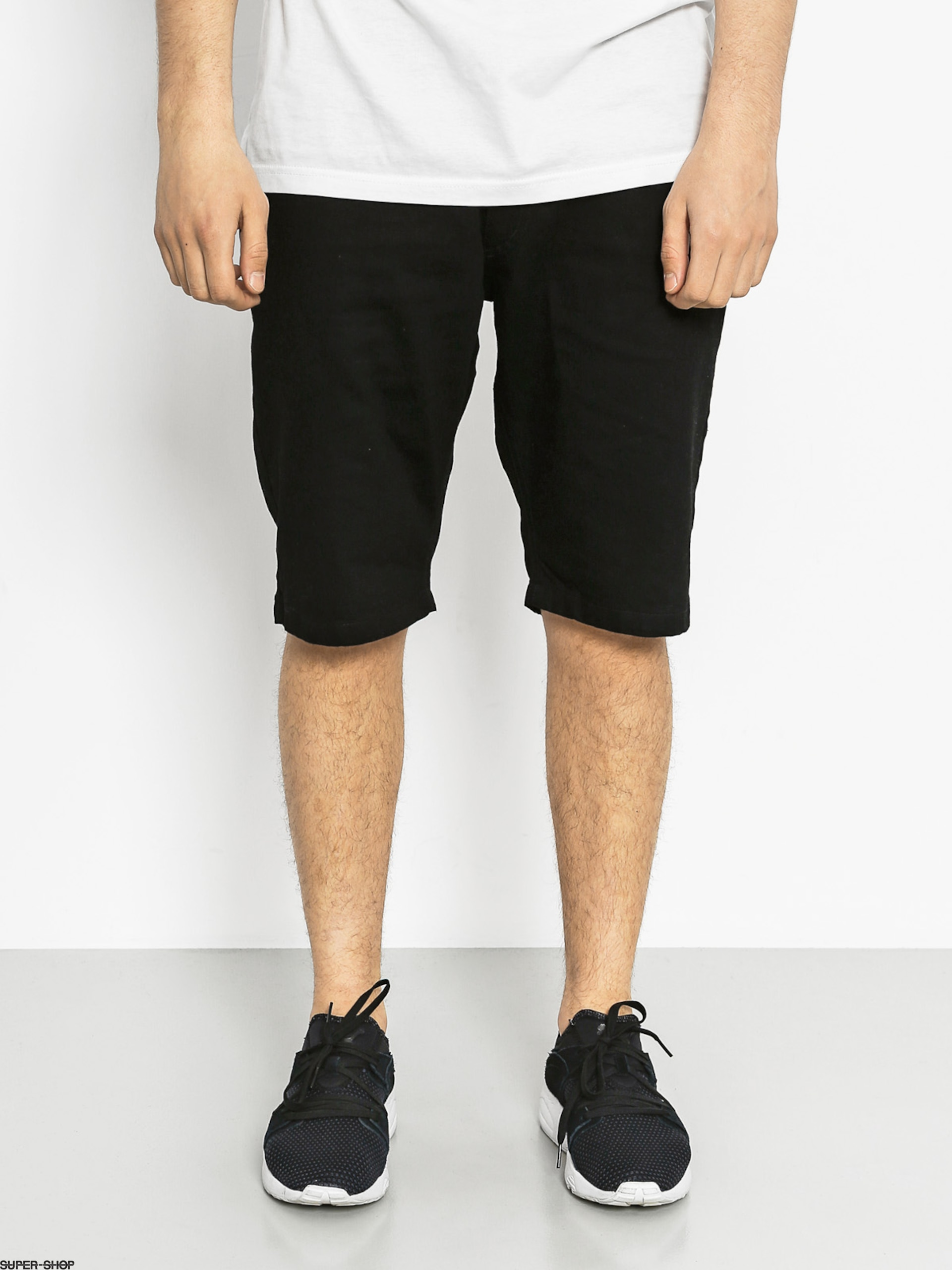 Nervous Shorts Jeans (black)