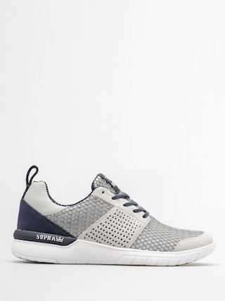 Supra Shoes Scissor (lt grey/navy white)