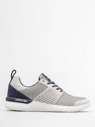Supra Shoes Scissor (lt grey/navy white)