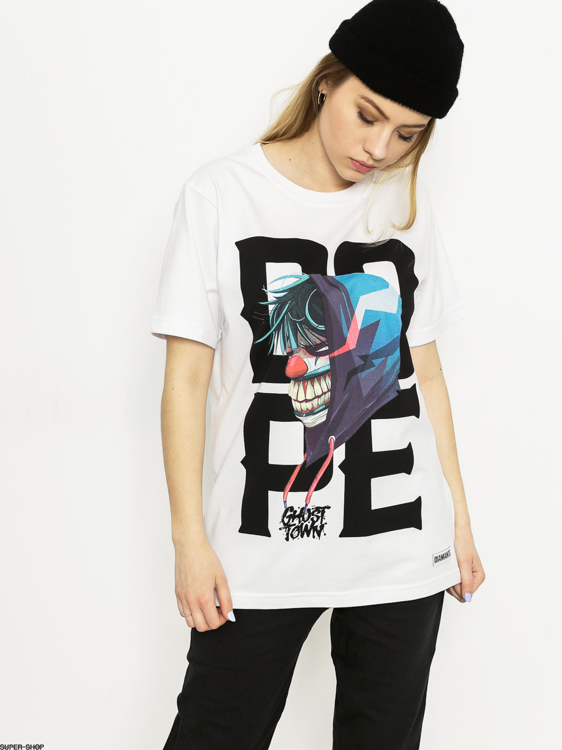 Diamante Wear T-shirt Dr Diggles