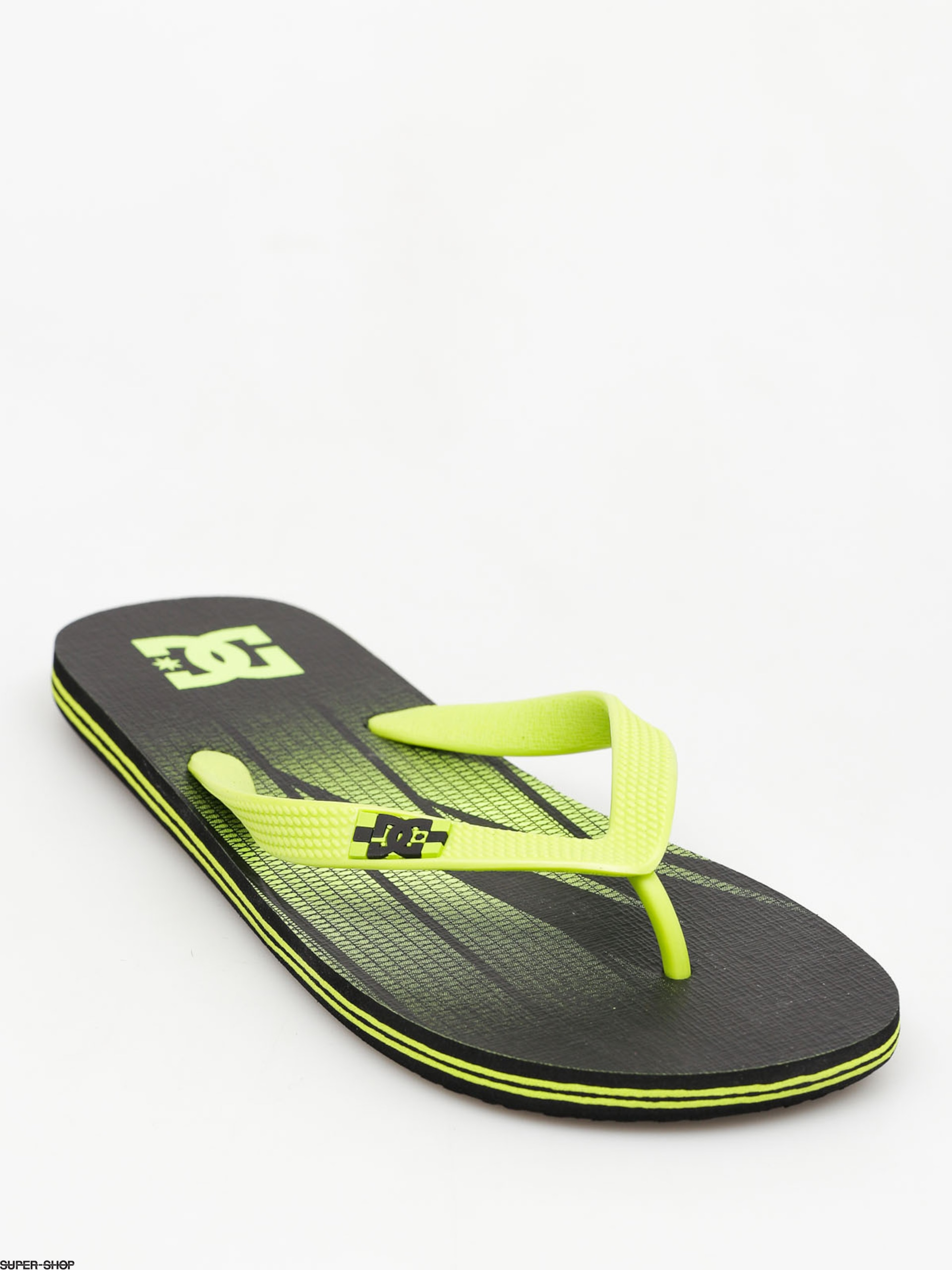 DC Flip-flops Spray Graffik (black/fluorescent green)
