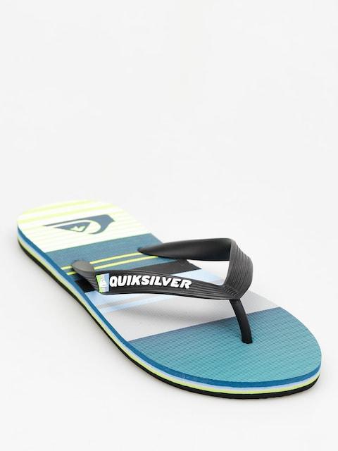 Quiksilver Flip Flops Molokai Everyda (lime/black/oceanblue)