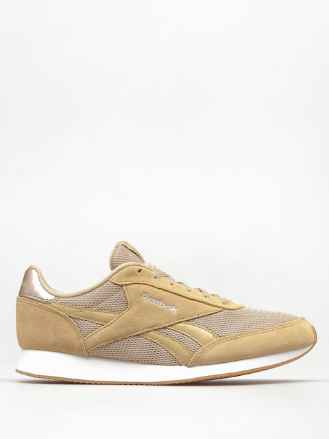 Reebok Shoes Royal Cl Jogger 2 Wmn (cg beige/slek met/wht/gum)