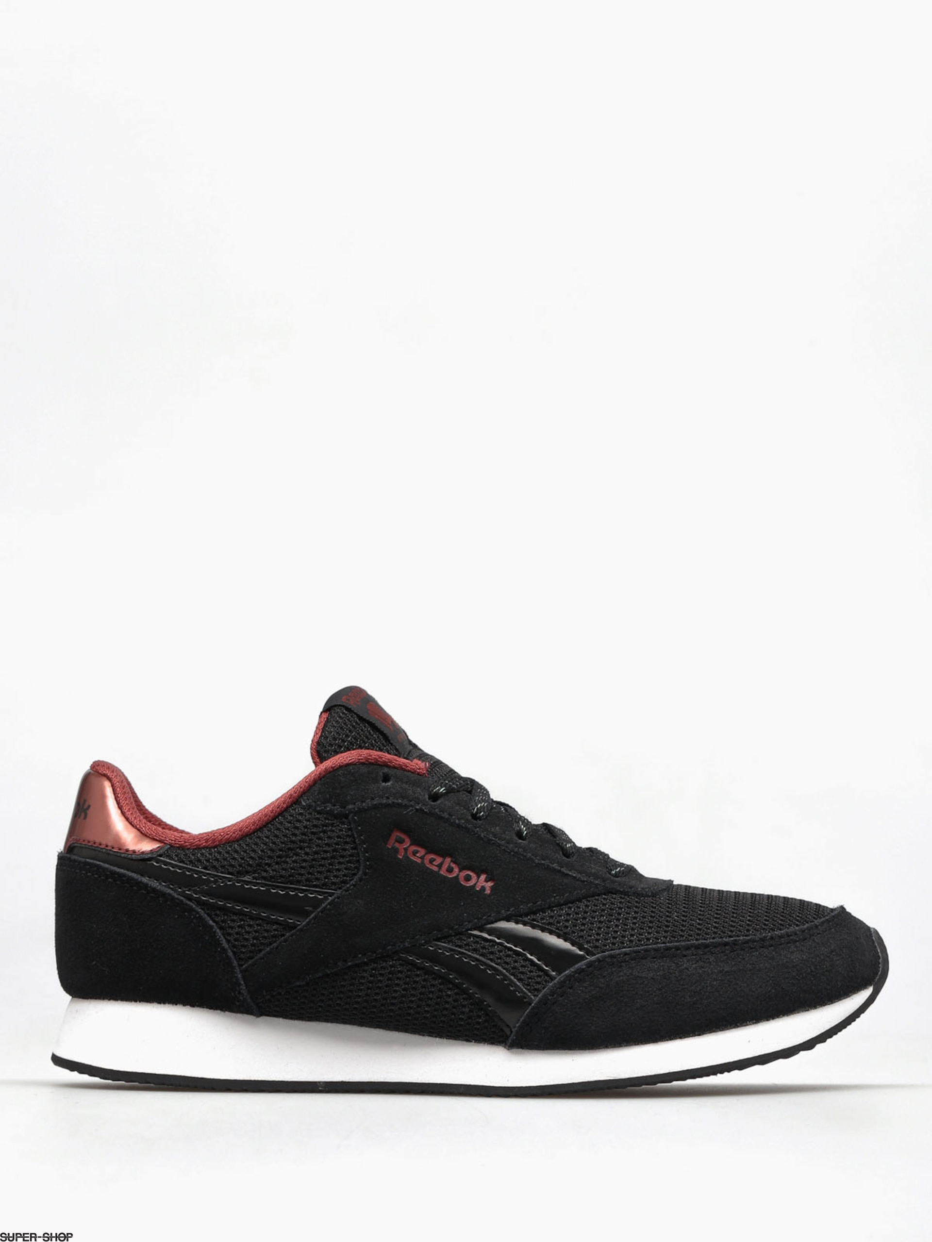 Reebok Shoes Royal Cl Jogger 2 Wmn (cg black/rust met/white)