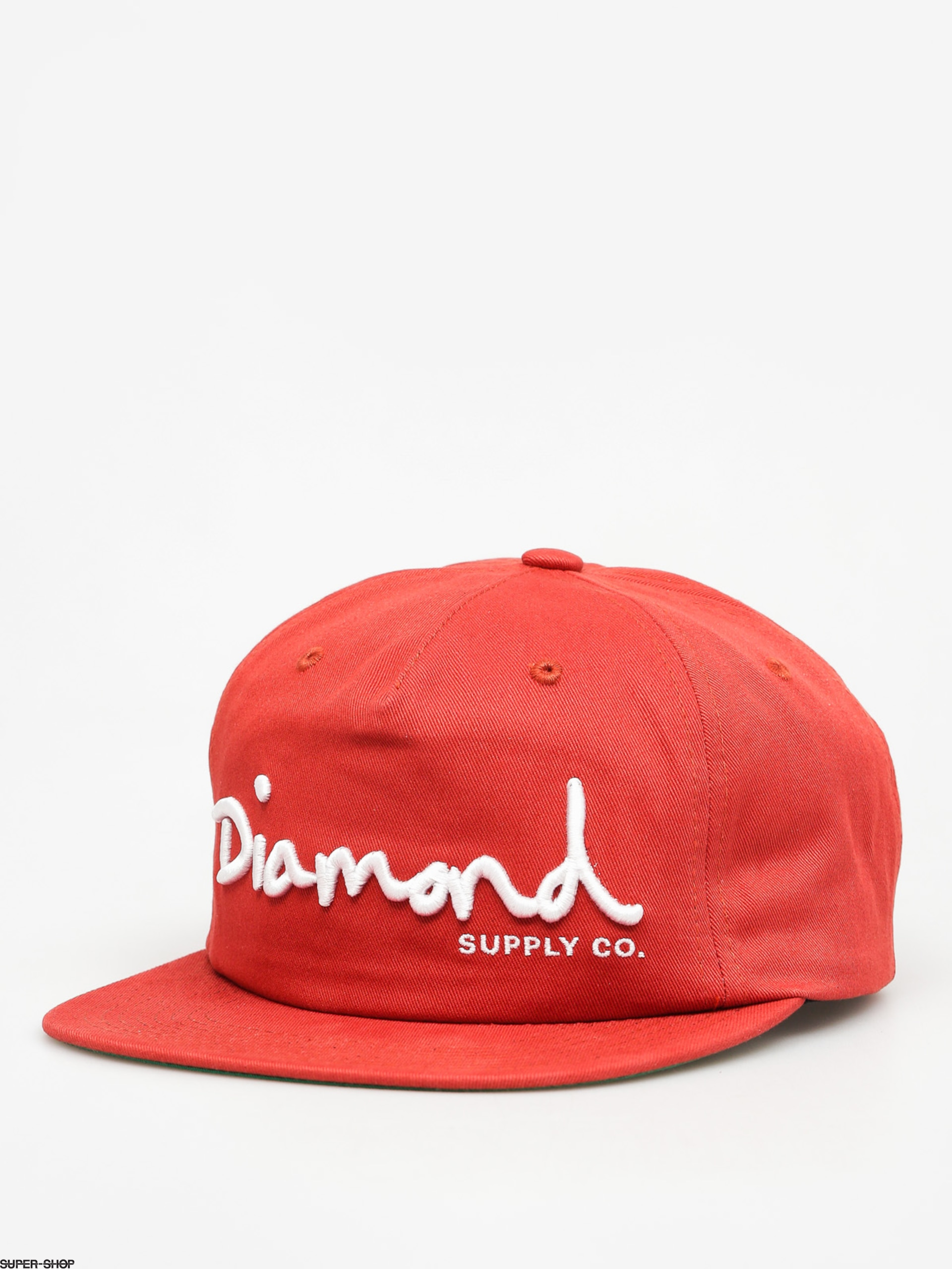Diamond Supply Co. Cap Og Script Snapback ZD (red)