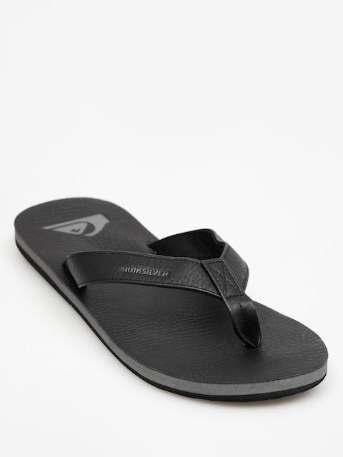 Quiksilver Flip Fops Molokai Nubuck (all black)
