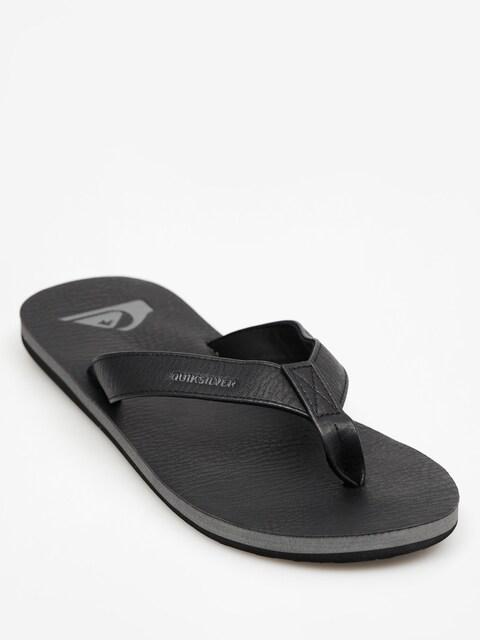 Quiksilver Flip-flops Molokai Nubuck (all black)