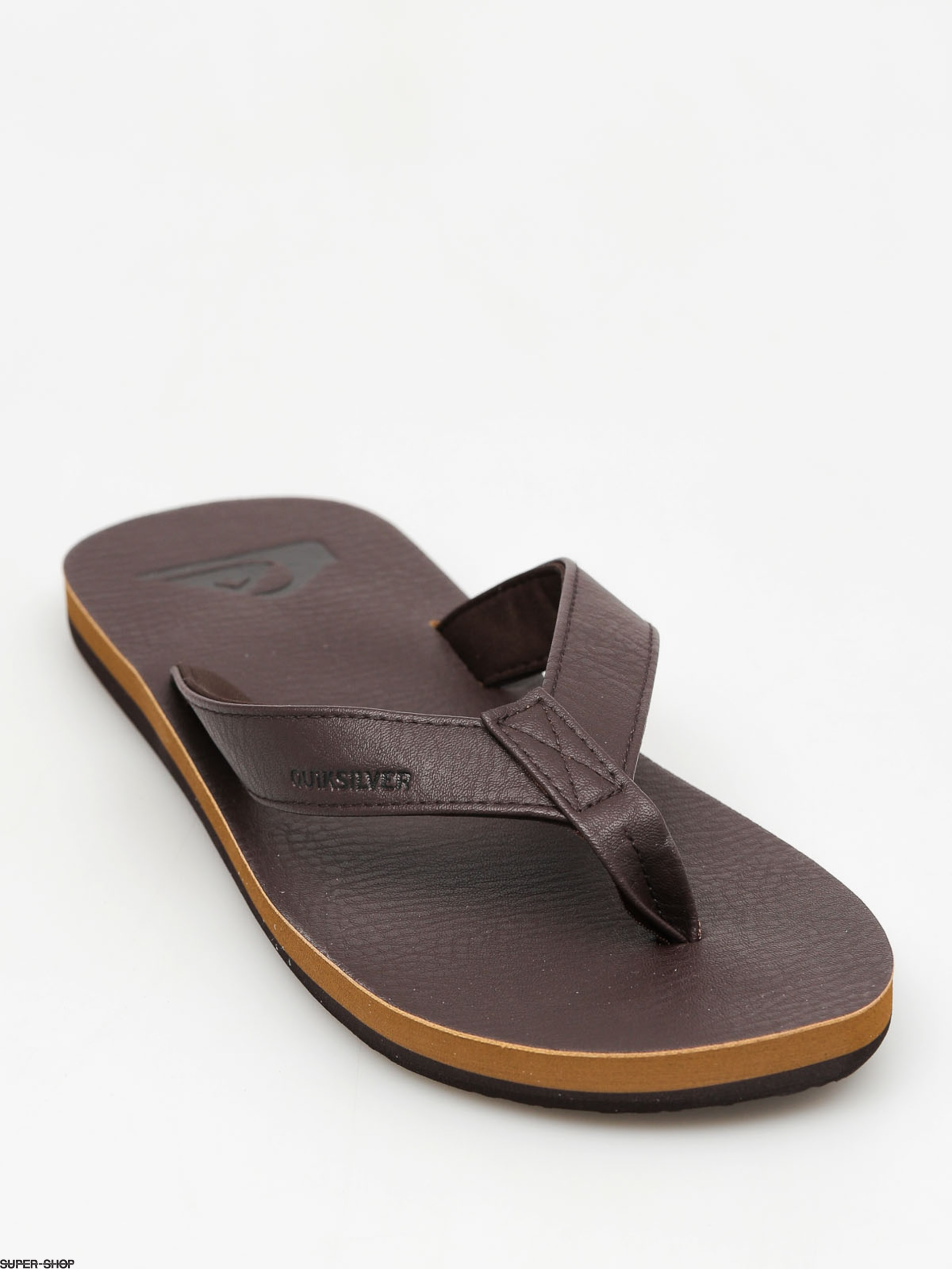 Quiksilver Flip-flops Molokai Nubuck (all brown)